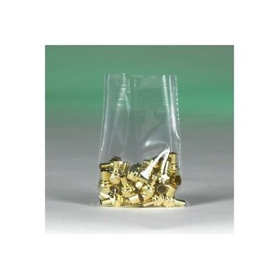 """""""Thornton's Flat 2 Mil Poly Bags, 14"""""""" x 24"""""""", Clear, 500"""""""