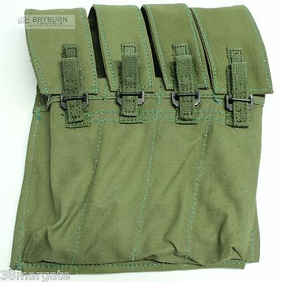 Pair of Australian Vietnam Issue F1/Sterling 9mm SMG Mag Pouches -1972-Unissued