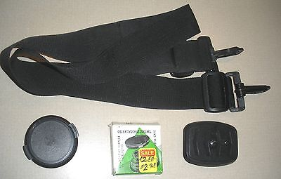 Strap, Tripod Attchement, Lens Cap BULK LOT Misc items