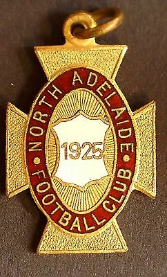 1925 North Adelaide Football Club Members Badge # 73: Maker Schlank 20 mm x 27mm