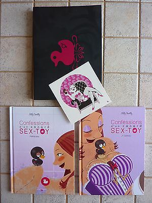 Confessions d'un canard Sex-Toy T1 & T2 - Milly Chantilly ( Coffret + XL) - TBE