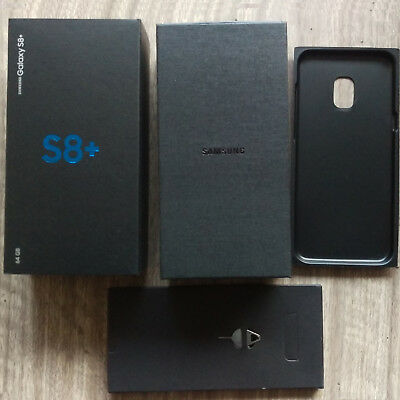 Empty Box Only Retail Packing With Factory Film Seal For Samsung Galaxy S8+ Plus