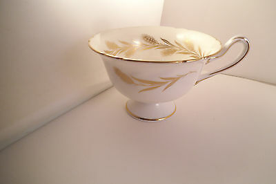 Vintage Shelley Fine Bone China England Cup Golden Harvest Wheat