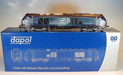 Dapol 00 Gauge Class 68 Diesel Electric Locomotive DRS Late Modified OVP #7485