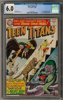 Teen Titans #1 CGC 6.0 (OW-W) Nick Cardy Cover & Art