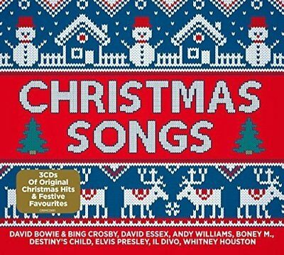 Christmas Songs Feat, Boney M,; D,Bowie & B, Crosby, Dido, M, Bolton 3 Cd Neu