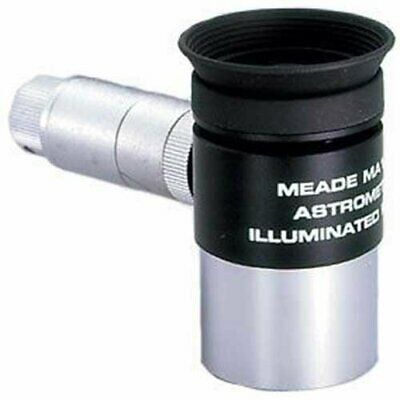 "Meade 07069 12-Millimeter Modified Achromatic Eyepiece Illuminated 1.25"" Reticle"