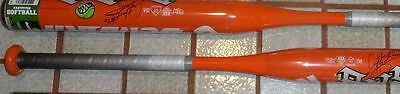DeMarini BAT CRYSTL BUSTOS FAST PITCH SOFTBALL 30/19  Orange htf