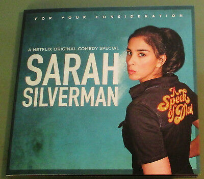 Sarah Silverman: A Speck Of Dust~Netflix Stand-Up Comedy Special~2017 Fyc Dvd