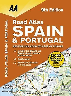 Road Atlas Spain & Portugal, AA Publishing