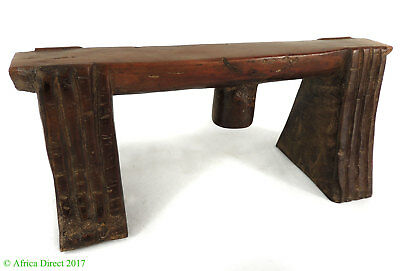 Zulu Headrest Isigqiki Wide Legs South African Artifact