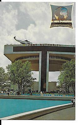 Vintage New York World's Fair 1964-1965 Heliport And Exhibit Building Postcard