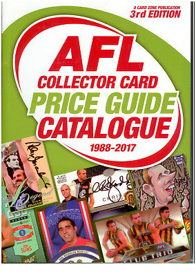1990-2014 1st Edition A4 Color Australia Sports Cards Price Guide Catalogue