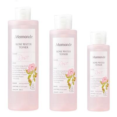 MAMONDE Rose Water Toner 150mL / 250mL / 500mL