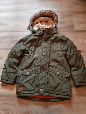 h m jungen winter parka khaki kurzmantel anorak winterjacke eur 5 55 picclick de. Black Bedroom Furniture Sets. Home Design Ideas