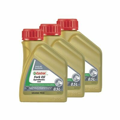 Castrol Road/Off Road Bike 5W Fully Synthetic Fork/Suspension Oil/Fluid - 1.5L