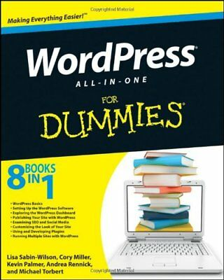 Wordpress All-in-One For Dummies (For Dummies (Computers)),Lisa Sabin-Wilson, C