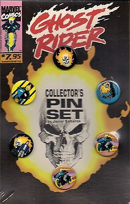 Ghost Rider Collector's Pin Set By Marvel Comics!~~~~~~