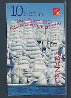 Canada Booklet 2000 Tail Ships #BK230b MNH ** Free Shipping **