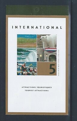 Canada Booklet 2003 Tourist Attractions #BK271b MNH ** Free Shipping **