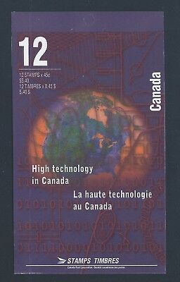 Canada Booklet 1996 Hi Tech #BK191a MNH ** Free Shipping **