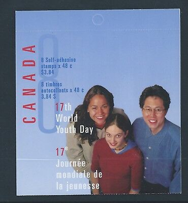 Canada Booklet 2002 World Youth Day #BK261b MNH ** Free Shipping **