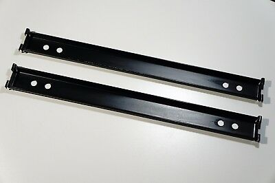 Original Steelcase Oem File Cabinet Rails (Two) One Pair Front To Back Genuine