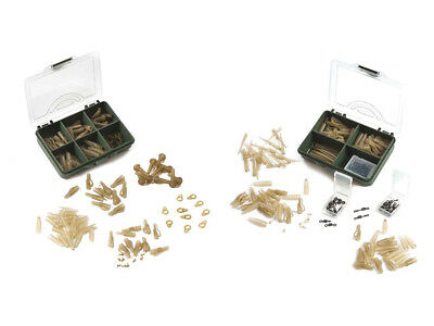 Red Carp Lead Clip Sets Carp Wirbel, Safety Clips, Tail Rubbers, Sleeves
