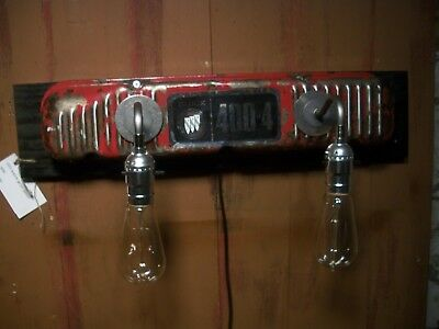 Vintage Buick Gran Sport 400  Valve Cover Wall Sconce Workshop Light