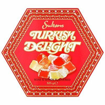 Sultans Rose and Lemon Turkish Delight (Pack of 3)