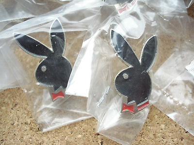 Sale Price - 100 New Playboy Rabbit Bunny Sign Stag Hen Party Pin Badge Job Lot