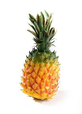 Best Artificial 32cm Realistic Large Pineapple Fruit Replica Decor Home Kitchen