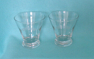 Set of Four Bailey's Irish Cream Whiskey Glasses with Frosted Logo