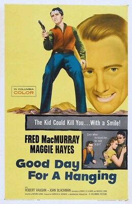 16MM Good Day for a Hanging (1959) FRED MACMURRAY- GREAT WESTERN DRAMA-2 REELS!!