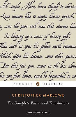 Complete Poems and Translations, Christopher Marlowe