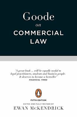 Goode on Commercial Law, Goode, Roy