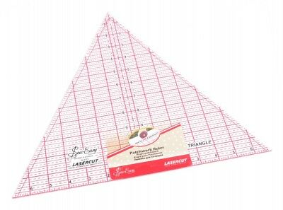Sew Easy Patchwork Quilting Ruler 60 Degree Triangle - each (NL4173)