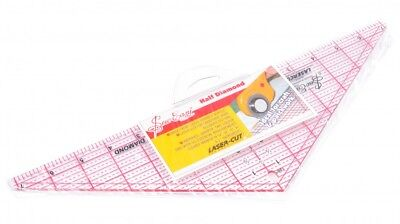 Sew Easy Patchwork Quilting Ruler Half Diamond - each (NL4175)