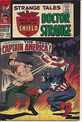 Strange Tales #159 : Doctor Strange, Nick Fury : Aug 1967 : See Scans