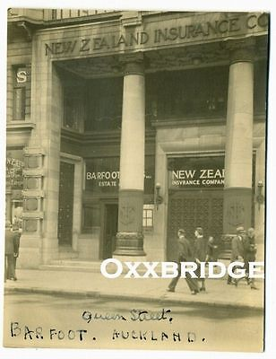 GUARDIAN BUILDING Queen St AUCKLAND Barfoot Thompson NEW ZEALAND INSURANCE Photo