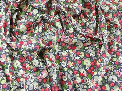 SI061-M Floral Print Cotton Lawn Dress Fabric