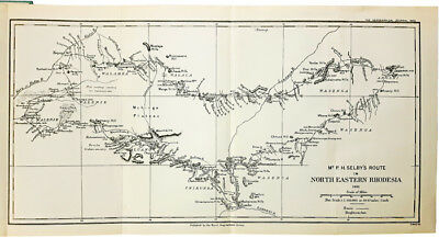 1902 Governors Early Account - NORTH-EASTERN RHODESIA PROTECTORATE with MAP - 05