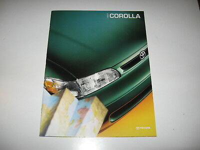 Asian vehicles brochures catalogs automobilia transportation 1997 toyota corolla big deluxe color brochure base ce and dx free s sciox Choice Image