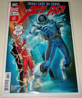The FLASH # 38  DC Comic  (March 2018)   NM   1st Printing.