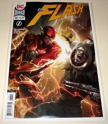 The FLASH # 38  DC Comic  (March 2018)   NM   VARIANT COVER EDITION