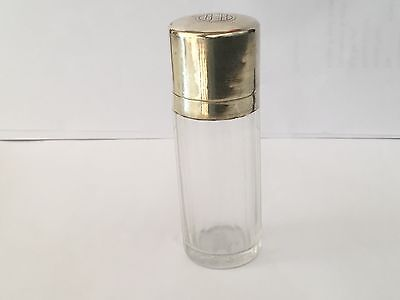 Art Deco French Sterling and glass  smelling salts scent  bottle
