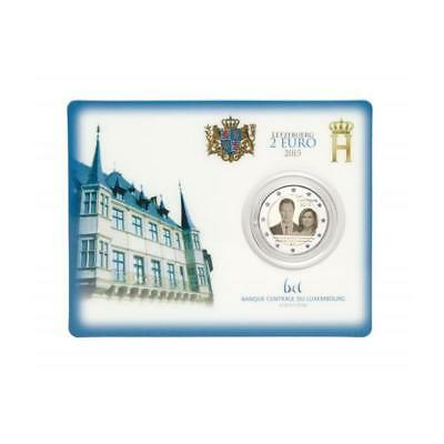 2 Euro Luxembourg 2015 Son Accession Henry en Coincard