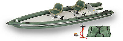 Sea Eagle Fsk16 Fish Skiff Boat Inflatable 2-Person Swivel Seat Make Best Offer!