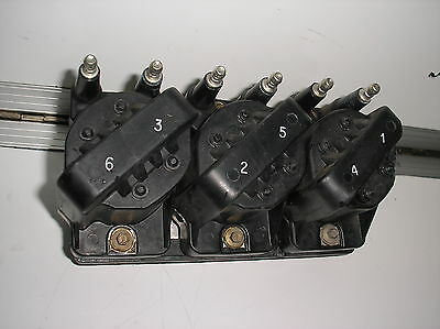 HOLDEN COMMODORE VS VT VX VU WH VY V6 COIL PACK & DFI MODULE WITH PLATE coil