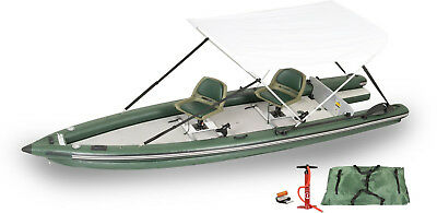 Sea Eagle Inflatable Fsk16 Fish Skiff Boat 2-Person Swivel Seat Make Best Offer!